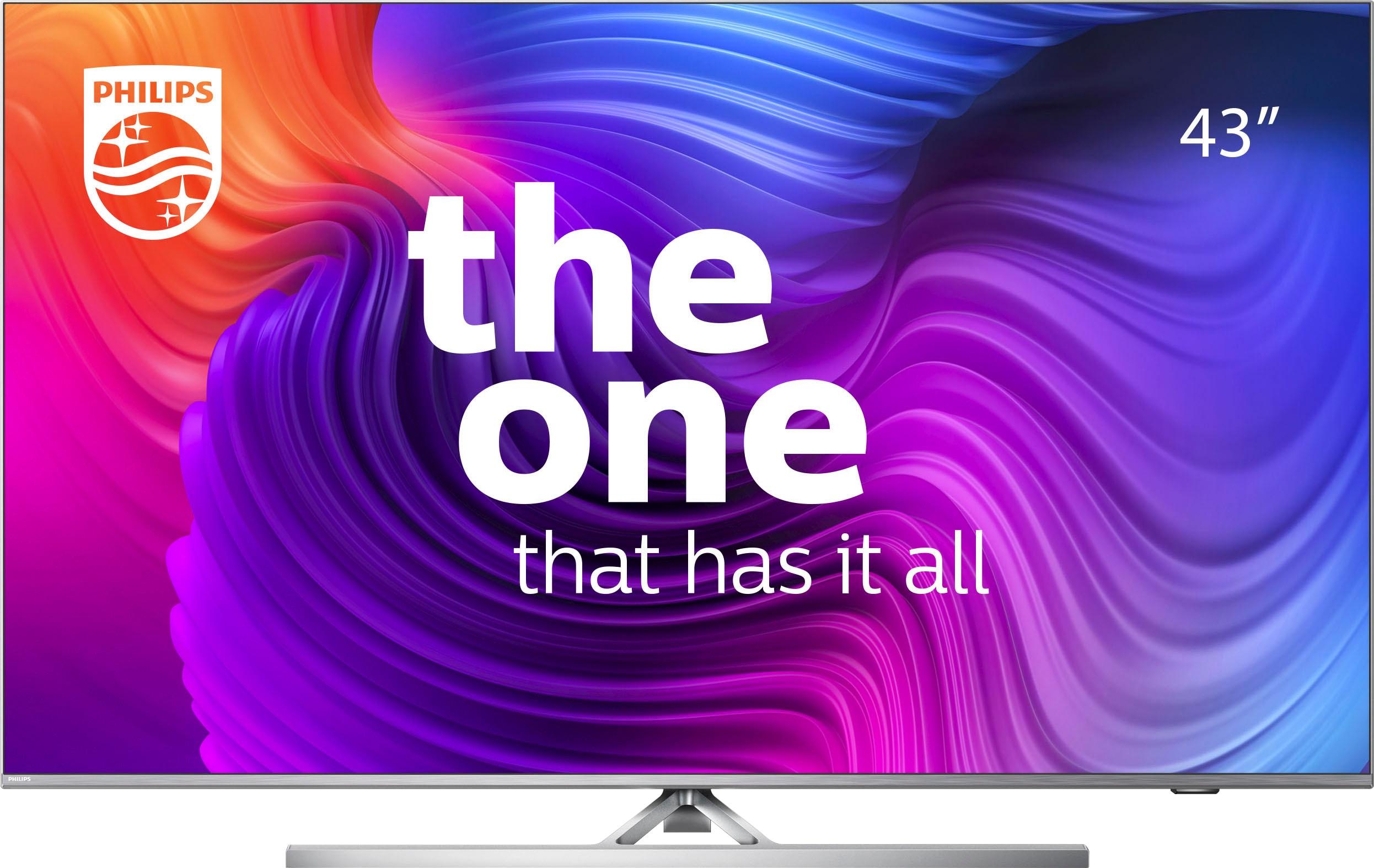 Philips LED-Fernseher 43PUS8506 12 , 108 cm 43 , 4K Ultra HD, Smart-TV