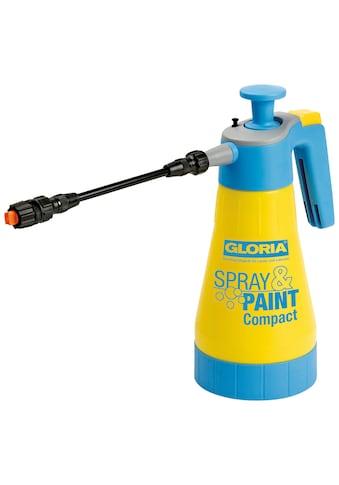 Gloria Sprühflasche »Spray&Paint Compact«, für Lasuren, Lacke und Öle auf Wasserbasis kaufen