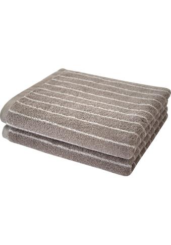 Dyckhoff Handtücher »Nadelstreifen«, (2 St.), mit eingewebten Nadelstreifen kaufen