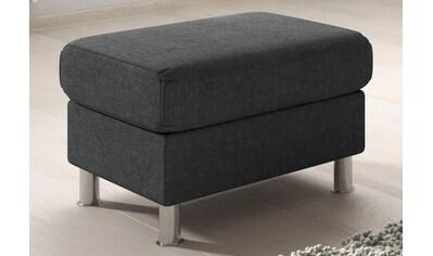 TRENDMANUFAKTUR Hocker, wahlweise mit komfortablem Federkern, frei im Raum stellbar kaufen