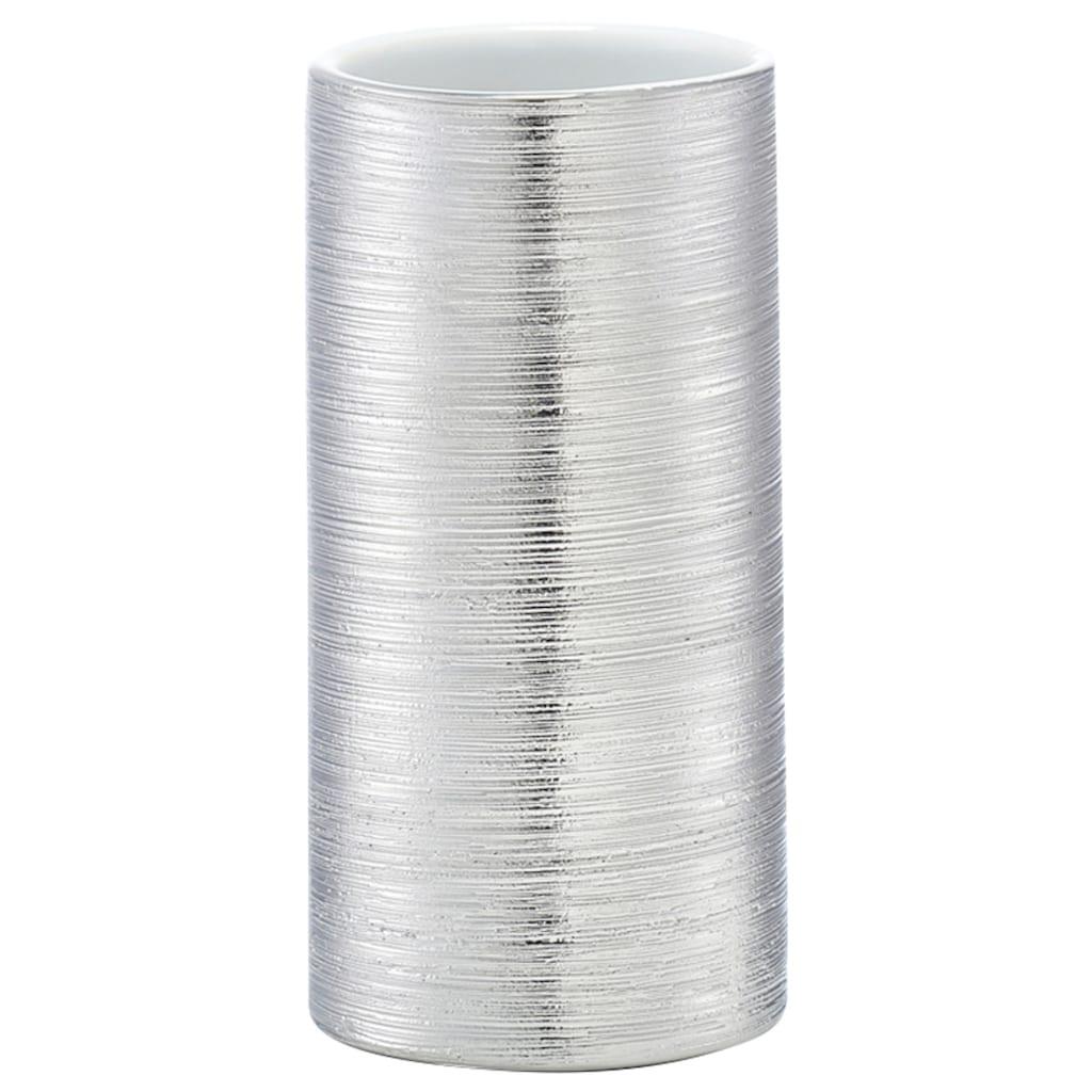 Zeller Present Zahnputzbecher »Brushed«, zeitloses Design