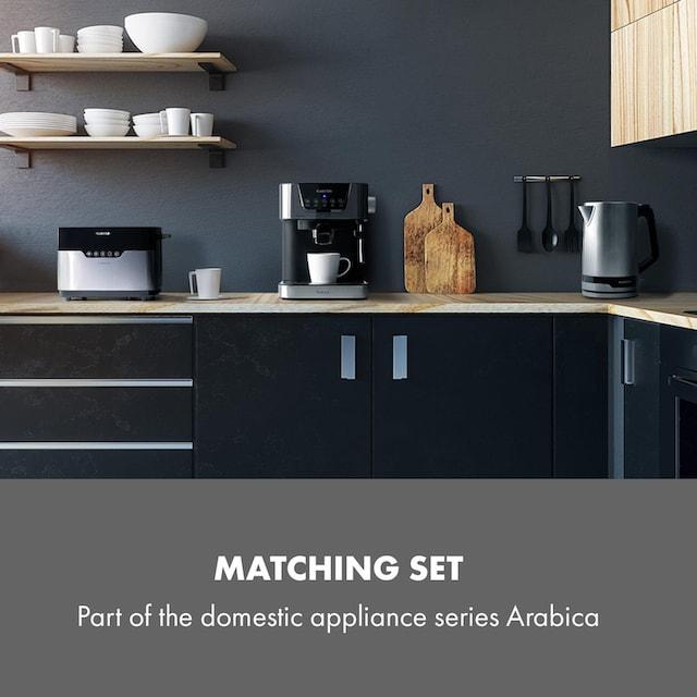 Klarstein Arabica Espressomaschine 1050W 15 Bar 1,5l Touch »Espresso«