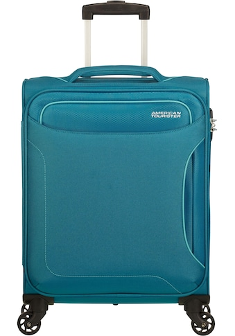 American Tourister® Weichgepäck-Trolley »Holiday Heat, 55 cm, petrol green«, 4 Rollen kaufen