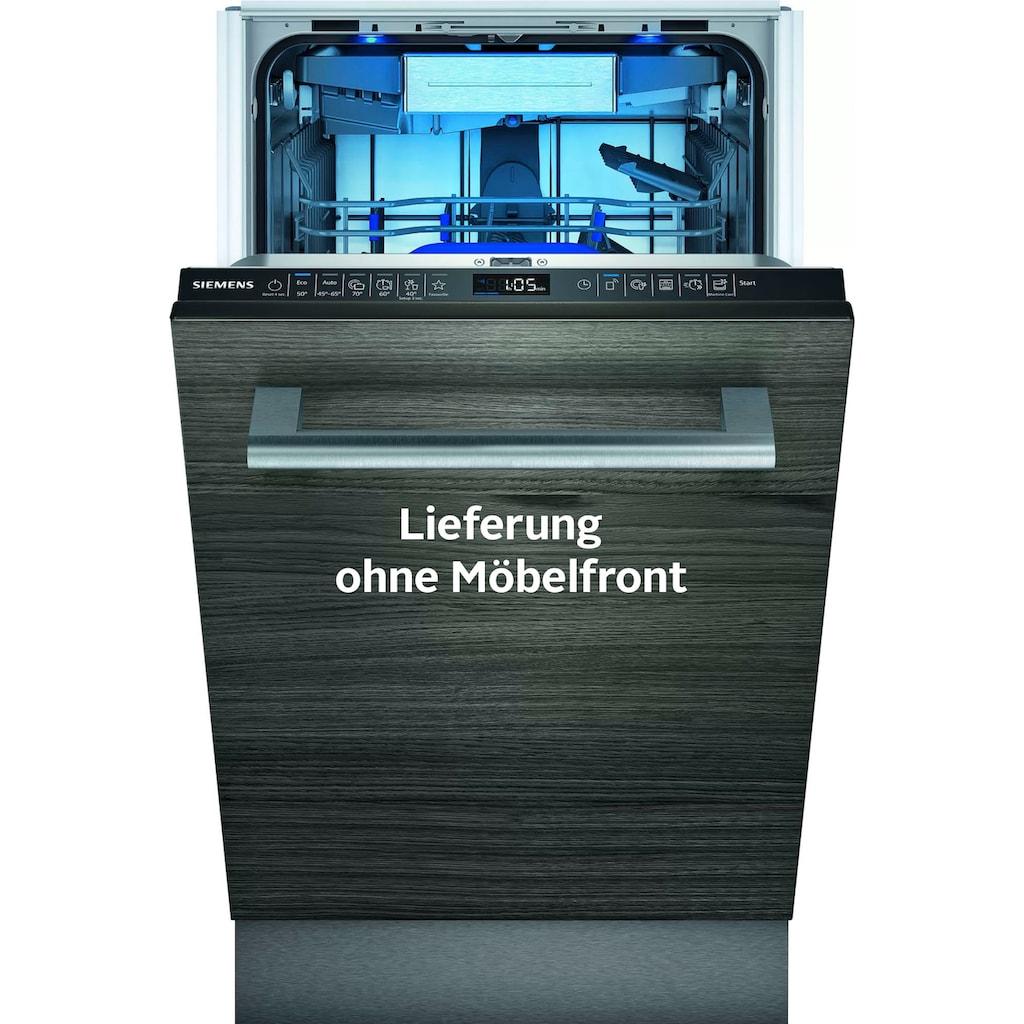 SIEMENS vollintegrierbarer Geschirrspüler »SR65ZX23ME«, iQ500, SR65ZX23ME, 10 Maßgedecke