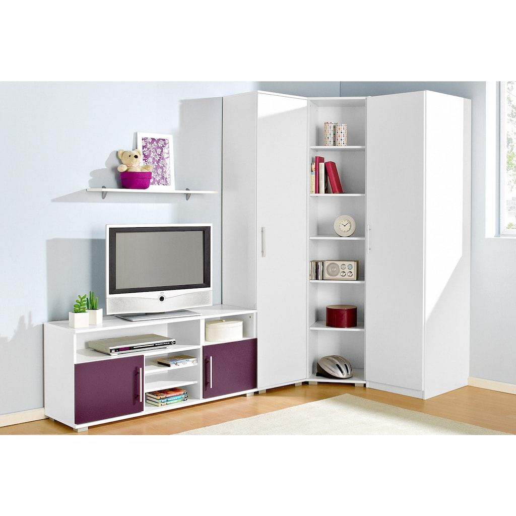 Jugendzimmer-Set, (Set, 5 St.)