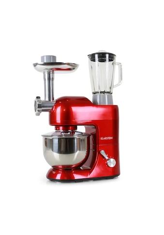 Klarstein Küchenmaschine Rührmaschine 5L Fleischwolf Mixer Blender 1200W kaufen