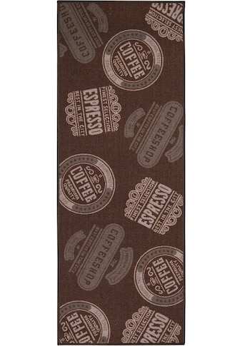 Küchenläufer, »Coffeeshop«, Andiamo, rechteckig, Höhe 5 mm, maschinell getuftet kaufen