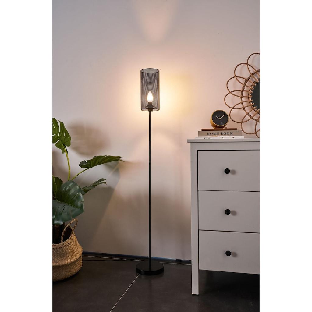Pauleen Stehlampe »Black Mesh«, E14, 1 St., Metall Schwarz