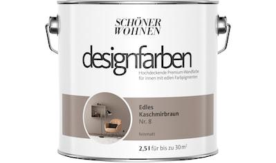 SCHÖNER WOHNEN-Kollektion Wand- und Deckenfarbe »Designfarben« kaufen