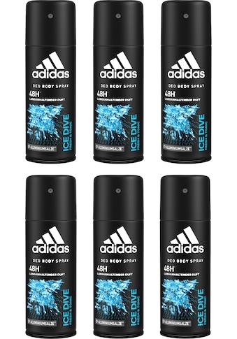 adidas Performance Deo-Spray »Ice Dive«, (Spar-Set, 6 tlg.), für Männer kaufen