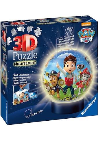 Ravensburger Puzzleball »Nachtlicht Paw Patrol«, mit Leuchtmodul inkl. LEDs; Made in Europe kaufen