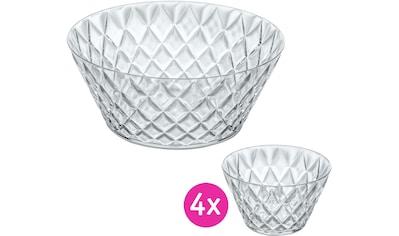 KOZIOL Salatschüssel »Crystal«, Ø 27 cm kaufen
