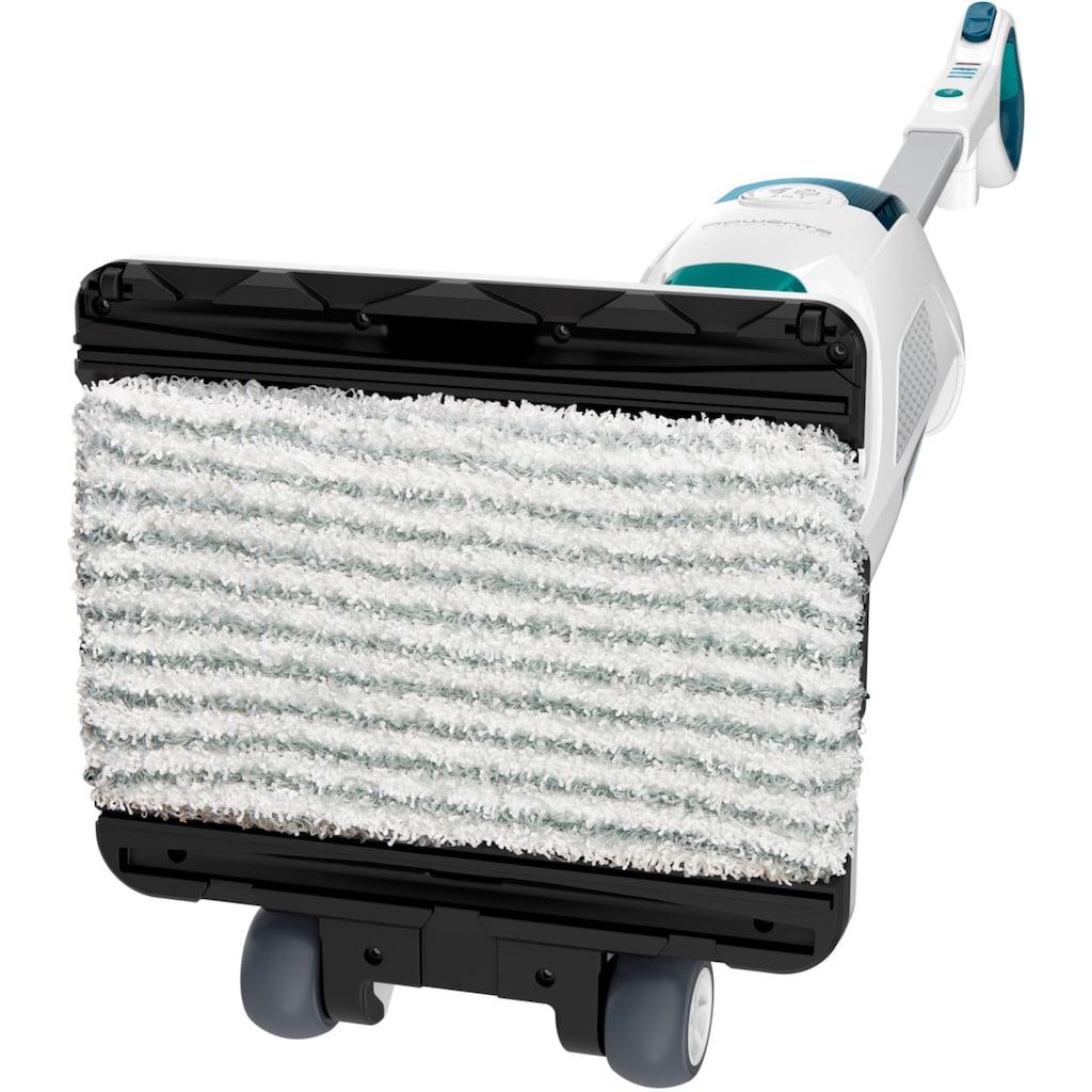 Rowenta Dampfreiniger »+ Staubsauger Clean&Steam Revolution RY7757«, 2-in-1 Böden wischen und saugen, 1500 Watt, Weiß
