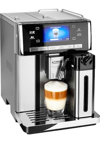 De'Longhi Kaffeevollautomat PrimaDonna Exclusive ESAM 6900.M, 1,4l Tank, Kegelmahlwerk kaufen