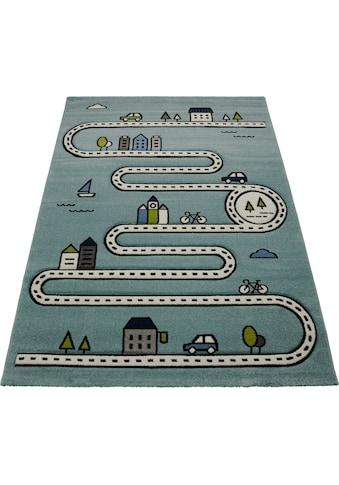 merinos Kinderteppich »Indigo Kids 22710«, rechteckig, 18 mm Höhe, Wohnzimmer kaufen