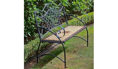 GARDEN PLEASURE Gartenbank »Amarillo«, Stahl, 115x57 cm kaufen