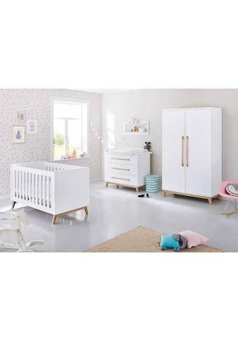Pinolino® Babyzimmer-Komplettset »Riva«, (Set, 3 St.), breit; mit Kinderbett, Schrank... kaufen
