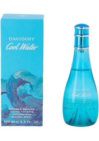 "DAVIDOFF Eau de Toilette ""Cool Water Summer"", 1 - tlg. kaufen"