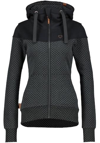 Alife & Kickin Sweatshirt »PalinaAK«, kuschelige Kapuzen-Sweatjacke mit aufwendigen... kaufen