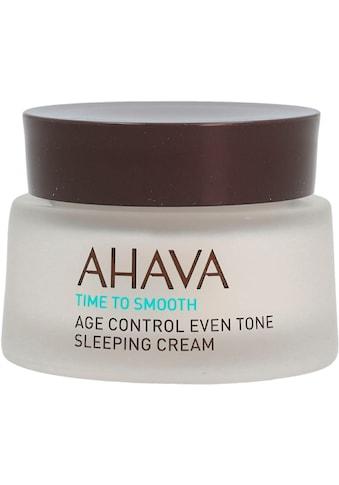 AHAVA Nachtcreme »Time To Smooth Age Control Even Tone Sleeping Cream« kaufen