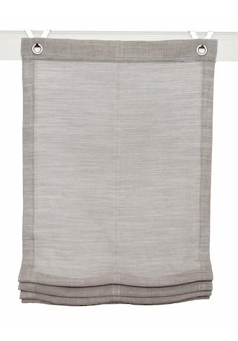 Raffrollo »Skagen«, Kutti, mit Hakenaufhängung, ohne Bohren kaufen