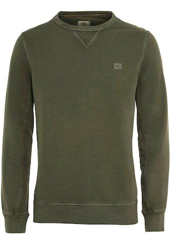 camel active Sweatshirt, mit Logostickerei kaufen