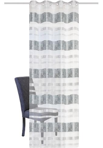 HOME WOHNIDEEN Vorhang »KIRAN«, HxB: 245x140, Jacquardmusterung kaufen