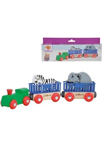 Eichhorn Spielzeug-Eisenbahn »Tierzug, 5-tlg.«, aus Holz; Made in Europe, FSC®-Holz... kaufen
