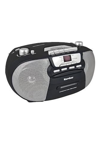 "Karcher tragbare Stereo Boombox »RR 5040 - B ""Oberon""« kaufen"