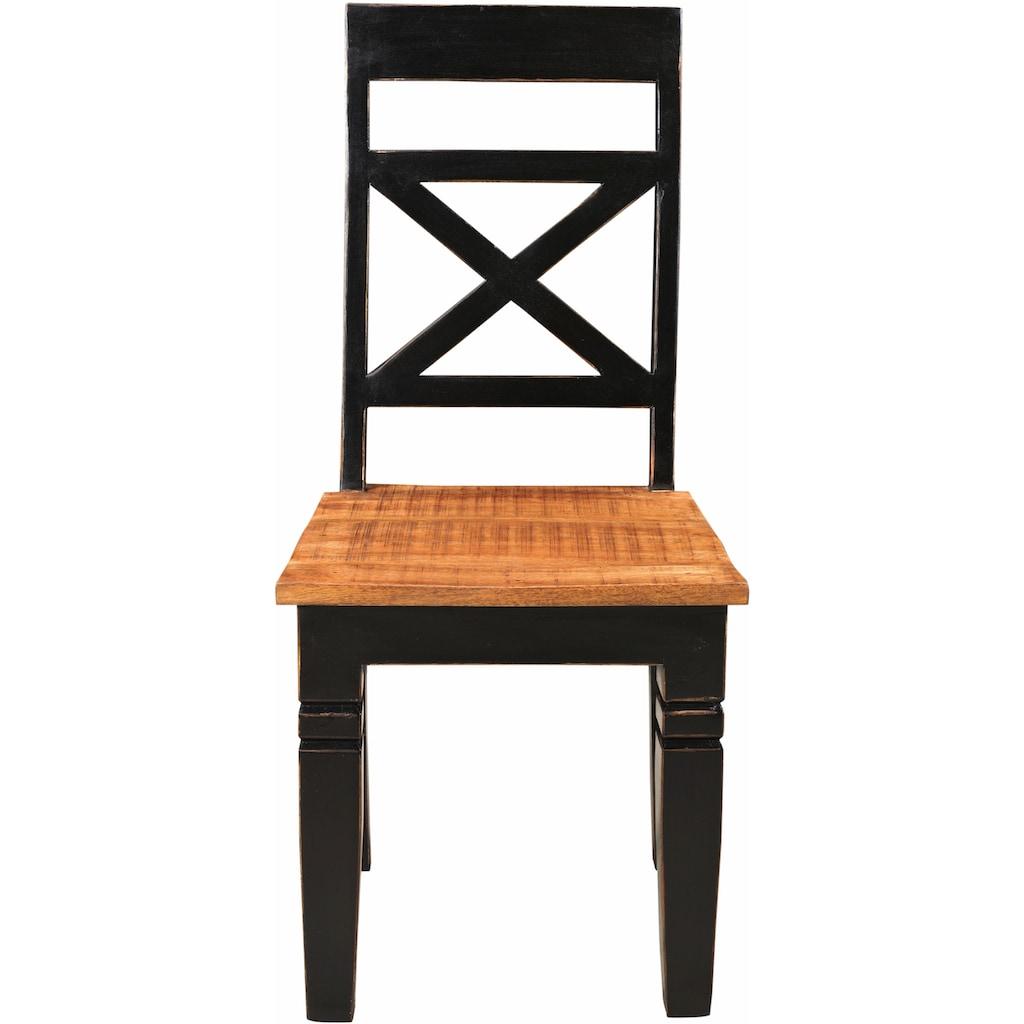 SIT 4-Fußstuhl »Corsica«, Shabby Chic, Vintage