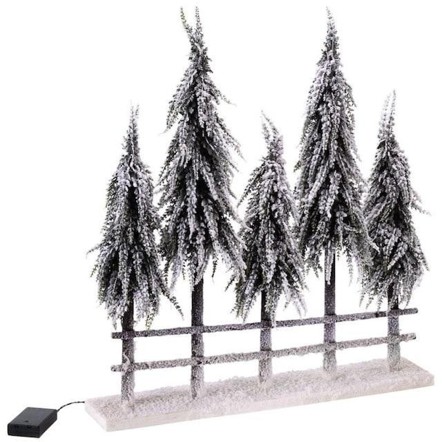 ,LED Baum»Winterwald«,