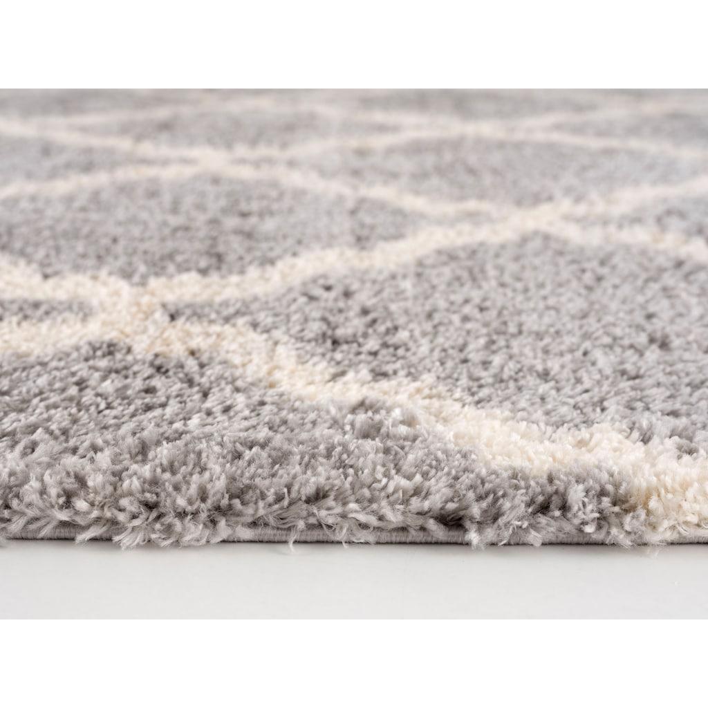Sanat Hochflor-Teppich »Versay«, rechteckig, 30 mm Höhe, mit Fransen
