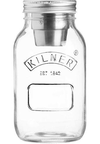 KILNER Vorratsglas »Snack on the Go«, (Set, 3 tlg., 1 x Vorratsglas, 1 x Becher, 1 x... kaufen