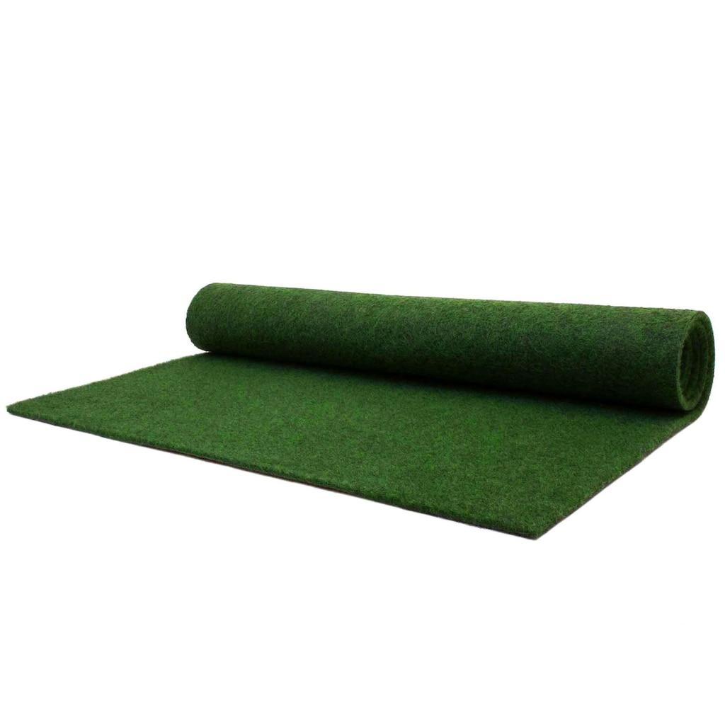 Primaflor-Ideen in Textil Kunstrasen »GARDEN B1«, rechteckig, 5 mm Höhe, Rasenteppich, strapazierfähig, witterungsbeständig, In- und Outdoor geeignet