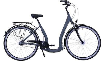 HAWK Bikes Cityrad »HAWK City Comfort Deluxe Grey«, 7 Gang Shimano Nexus Schaltwerk kaufen