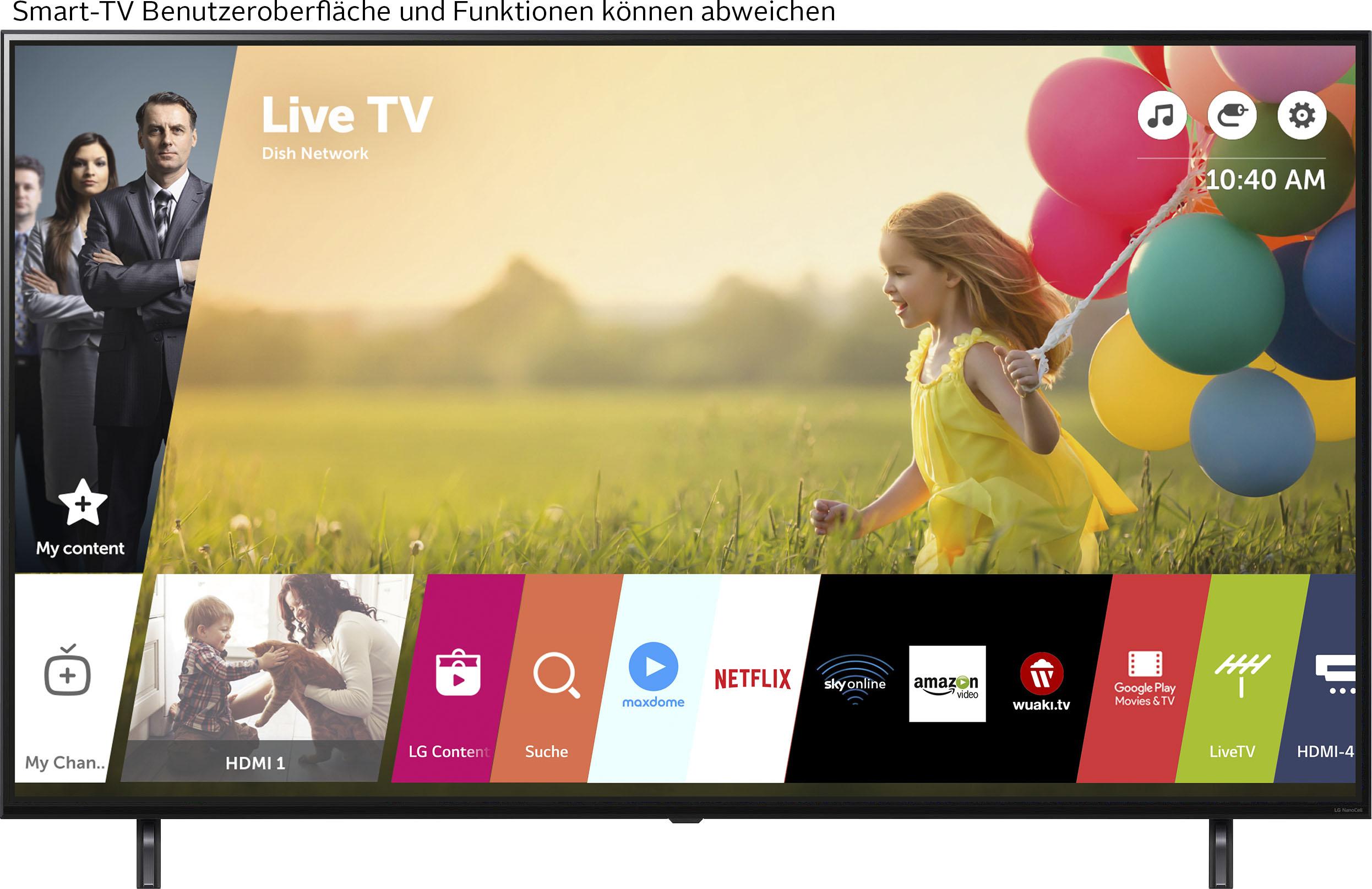 LG LCD-LED Fernseher 55NANO809PA , 139 cm 55 , 4K Ultra HD, Smart-TV, NanoCell
