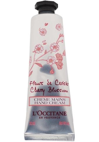 L'OCCITANE Handcreme »Fleur de Cerisier Créme Mains«, mit Sheabutter und Kirschextrakt kaufen