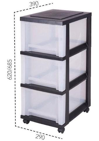 IRIS OHYAMA Rollwagen »SDC303«, mit 3 hohen Schubladen kaufen