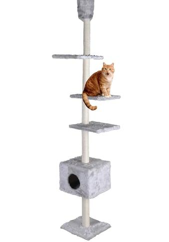 SILVIO design Kratzbaum »Kratzturm«, hoch, BxTxH: 36x36x230-260 cm kaufen