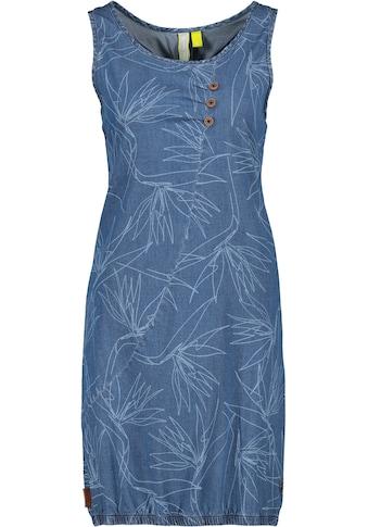Alife & Kickin Jeanskleid »CameronAK«, trendy Trägerkleid im Denim-Look mit Elasthan kaufen