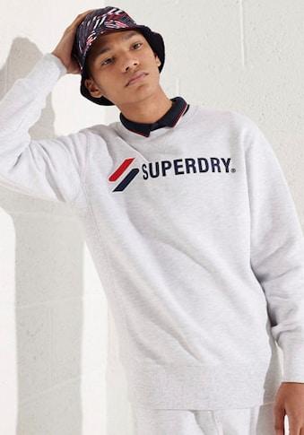 Superdry Sweatshirt »SPORTSTYLE APPLIQUE CREW« kaufen
