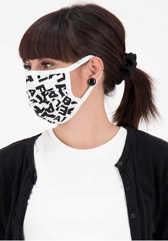 Alife & Kickin Mund-Nasen-Maske, Community Maske mit Print & Markenlogo kaufen