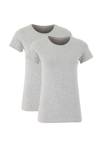 Deik & Dunes Rundhalsshirt »Runa«, mit Rundhals, aus elastischem Baumwolljersey kaufen