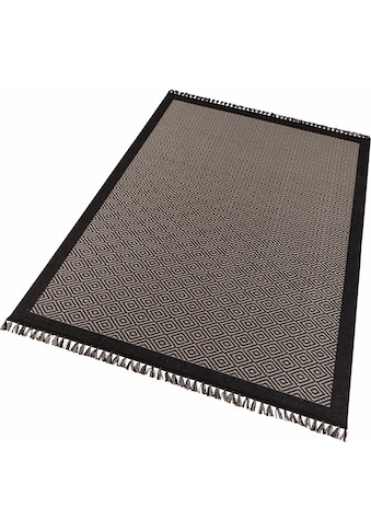 freundin Home Collection Teppich »Oslo«, rechteckig, 3 mm Höhe, Wohnzimmer kaufen