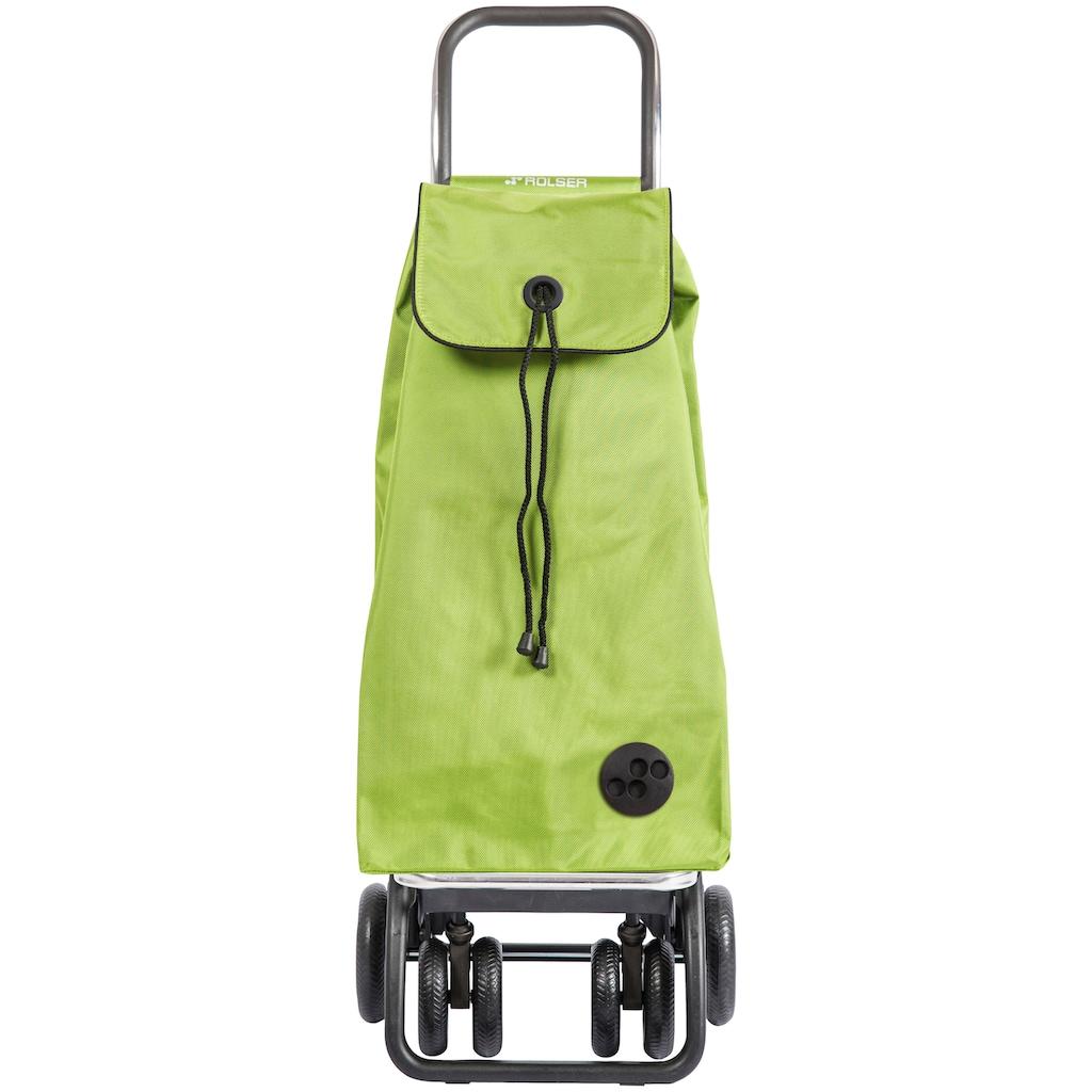 Rolser Einkaufstrolley »Logic Tour I-Max MF«, mit 6 Rädern, Treppensteiger, Tasche abnehmbar