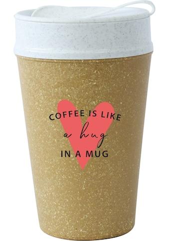 KOZIOL Coffee-to-go-Becher »ISO TO GO LIKE A HUG IN A MUG«, (1 tlg.), 100%... kaufen