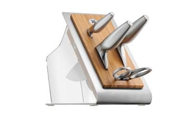 WMF Messerblock mit Messerset 5tlg. Spezialklingenstahl geschmiedet »Chef's Edition« kaufen