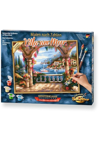 Schipper Malen nach Zahlen »Meisterklasse Klassiker - Villa am Meer«, Made in Germany kaufen