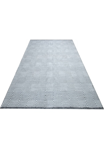 OTTO products Teppich »Florielle«, rechteckig, 7 mm Höhe, aus 100% recyceltem Garn,... kaufen
