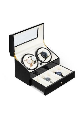 Klarstein Uhrenbeweger 4 Uhren 4 Modi Schubfach schwarz »Geneva« kaufen